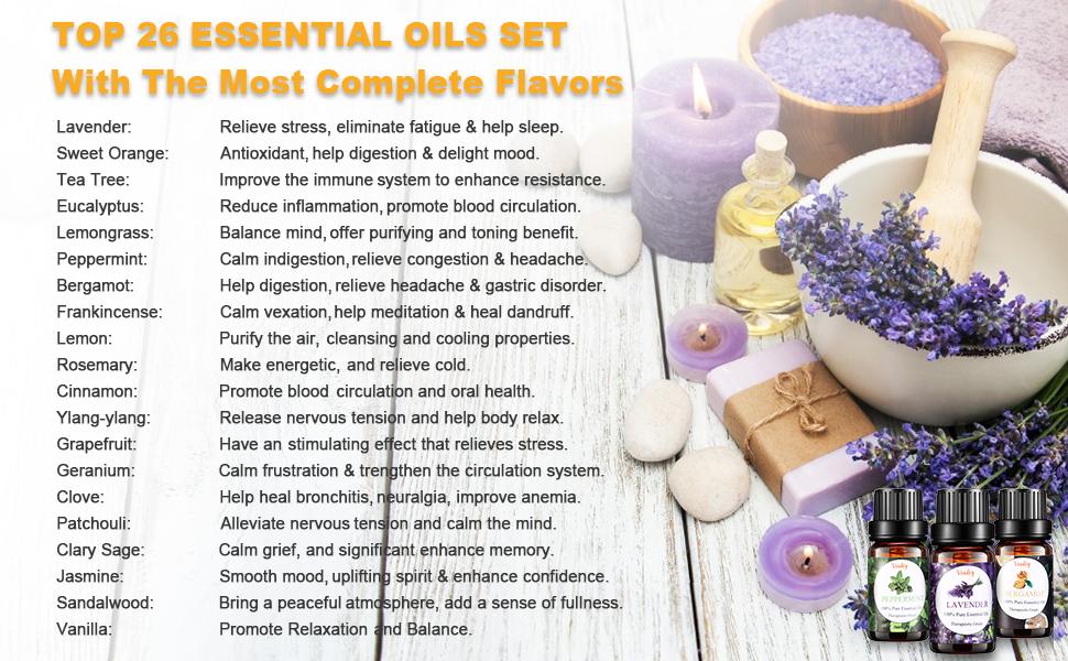 essential oils diffuser oil
