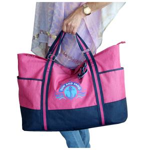 J Jones Jennifer Jones Grand sac cabas tr/ès l/éger pour femme en nylon facile dentretien