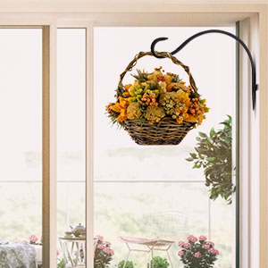 hanging planter baskets for outside