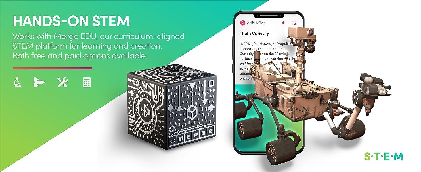 Merge Cube - Hands-on STEM