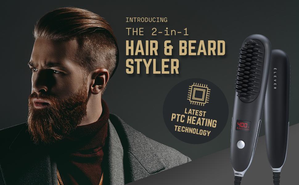 heated beard brush beard brush straightener beard straightener brush beard comb straightener for men