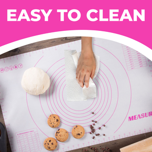 easy to clean maintain non stick baking pastry sheet liner for oven dishwasher safe