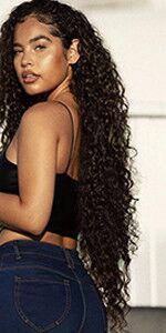 brazilian remy hair water wave bundle