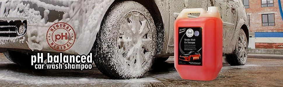 WONDER WASH CAR SHAMPOO 5 LTR