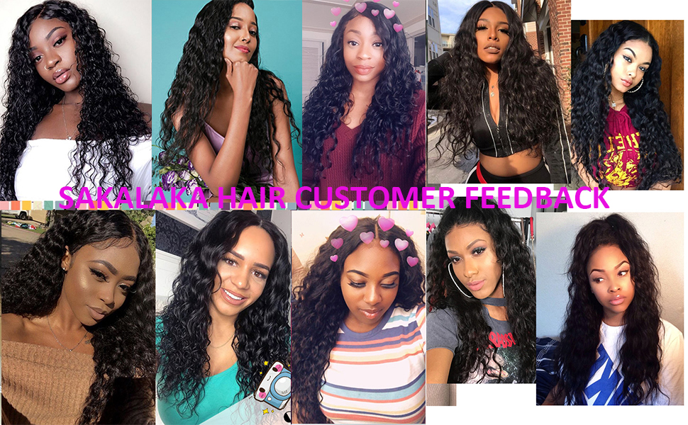 brazilian water wave bundles and closure customer feedback