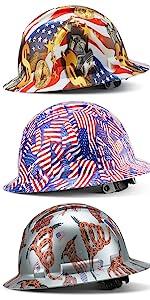 Full brim hard hat