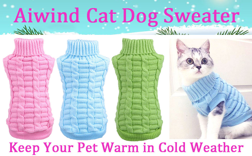 sweaters for cats dogs