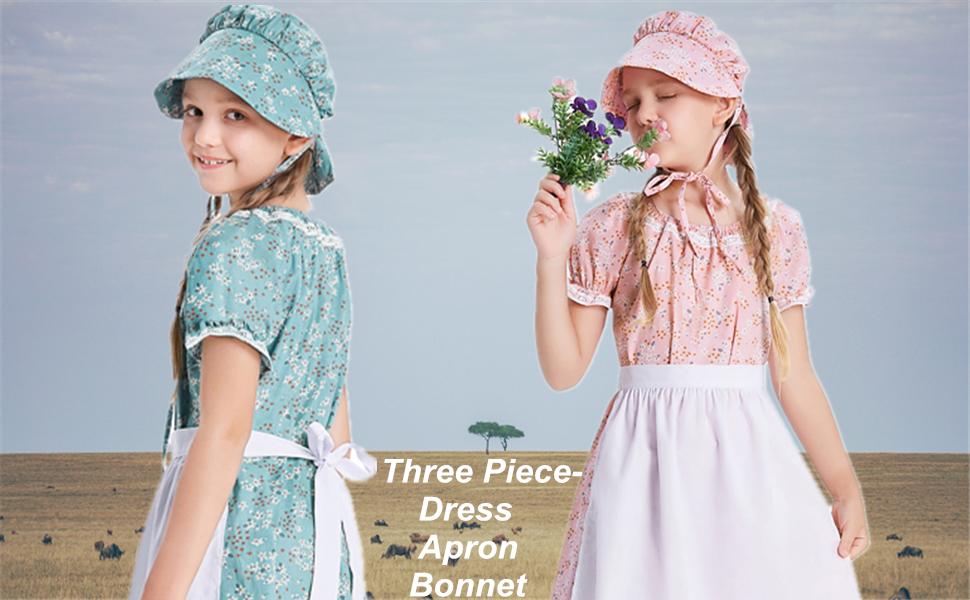 Colonial Girls Dress