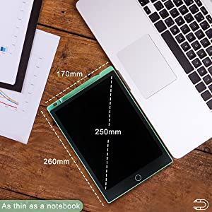 thin, lightweight and portable