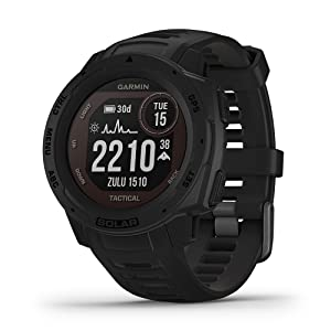 Garmin Instinct Solar - Tactical Edition Outdoor GPS Watch
