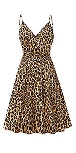 Leopard Print dress for Women
