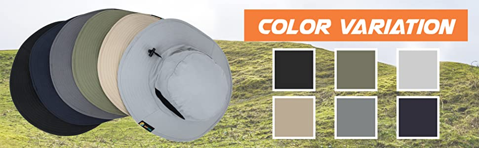 sun hat color variation