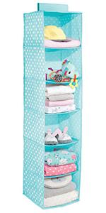 gray pink blue kid boy girl baby toddler toy clothes shoe nursery closet purple rod velcro shelf