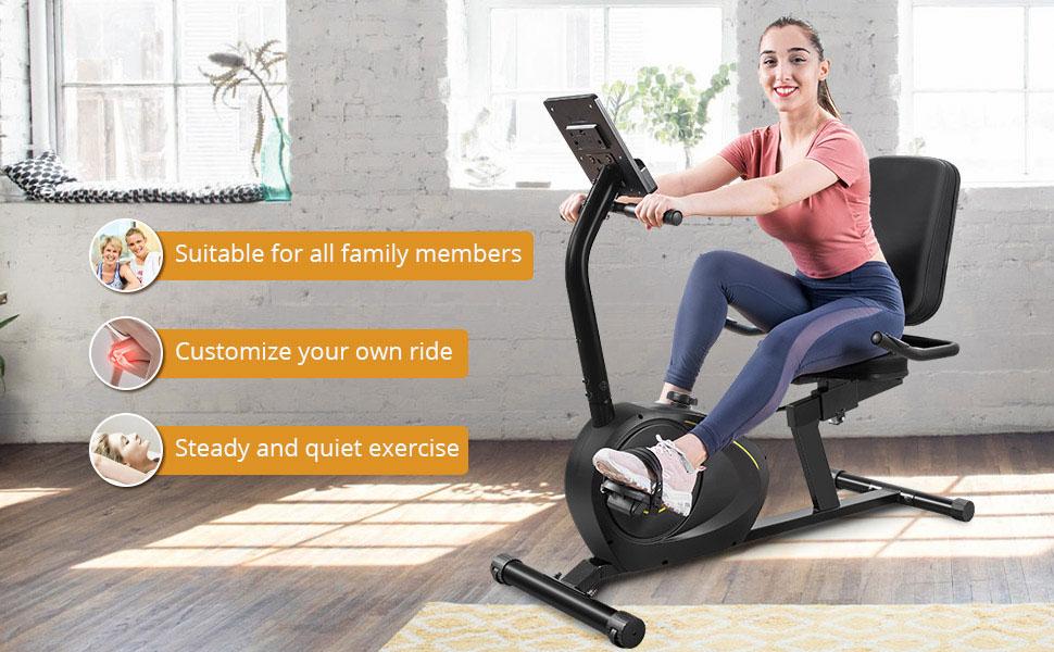 recumbent bike exercise bike