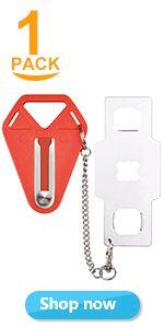 portable door lock