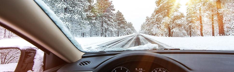 Scheibenfrostschutz Windschutzscheibe Frostschutz Auto Antifreeze klare Sicht Eisfrei Wischeranlage