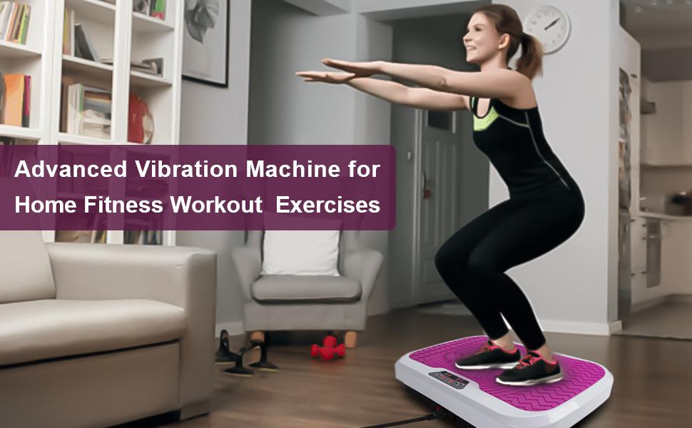 Vibration machinefor home exercise