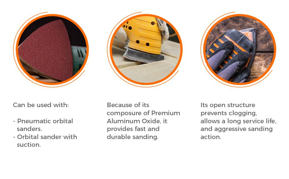 sanding pads, mouse sander, sandpaper, assorted grits, mouse sandpaper