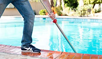 Brushing Your Pool Requires Pressure On Your Pool Pole Locking Mechanism