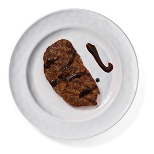 melamine plate white