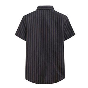 シャツ細いストライプ