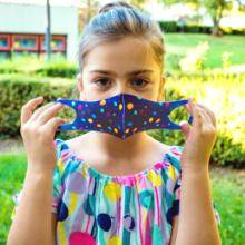 Purple Face Masks for girls