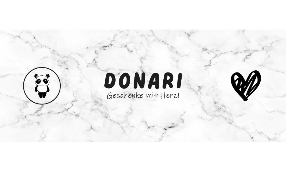 Donari Titelbild-Geschenke mit Herz