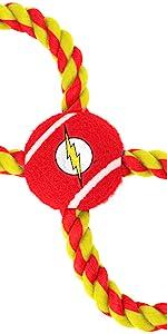 Flash Dog Toy Rope Toy