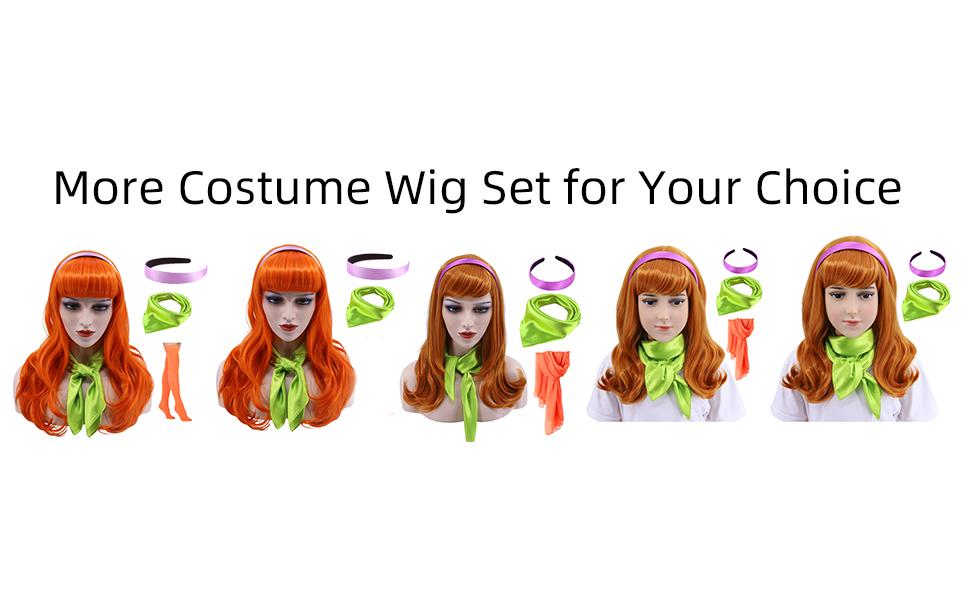 Daphne Wig Set