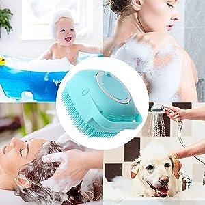 silicon body scrubber for bathing body scrubber loofah for women lufa for women bathing