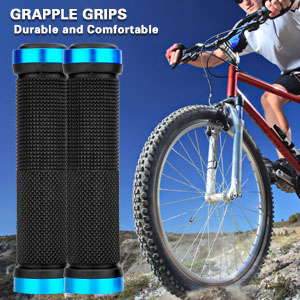 Details about  /Handlebar Grips MTB Bike Bicycle Riding Rubber Shockproof Accessories Useful