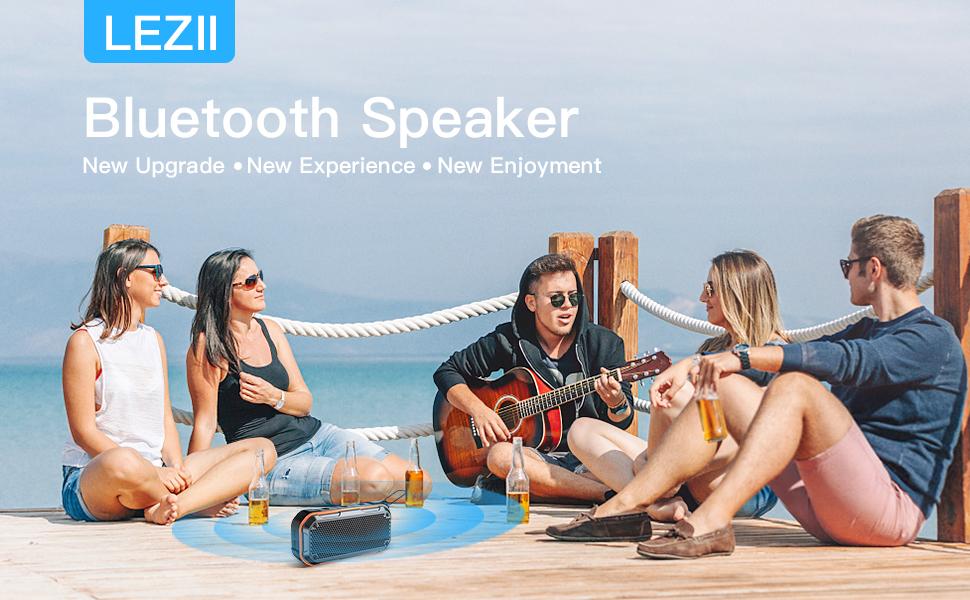LEHIIPortable Bluetooth Speaker - Enjoy Party with a Blast of Good Beats