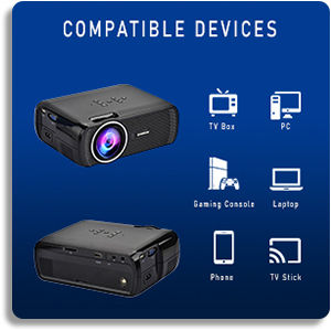 Everycom Multimedia Home Projector