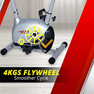 4kf flywheel magnetic bike