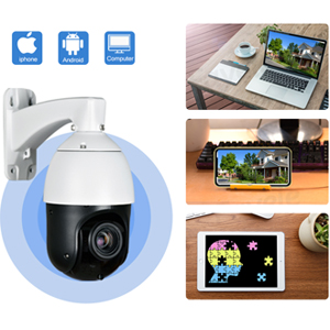 remote view smart poe ptz ip camera with app