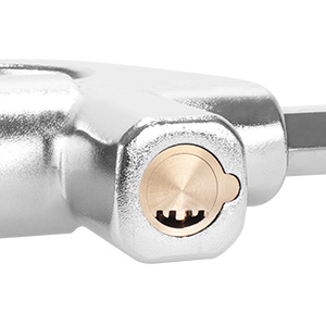 Precise Double Spring Crescent Lock Sub-Type Encoding Key