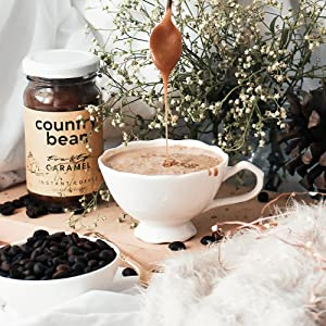 caramel coffe