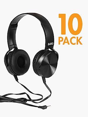 10 Pack - Barks Tech School Headphones