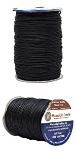 Waxed cord jewelry making crafting leather sewing binding wrapping stringing knotting lacing beading