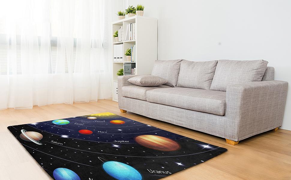 starry area rug