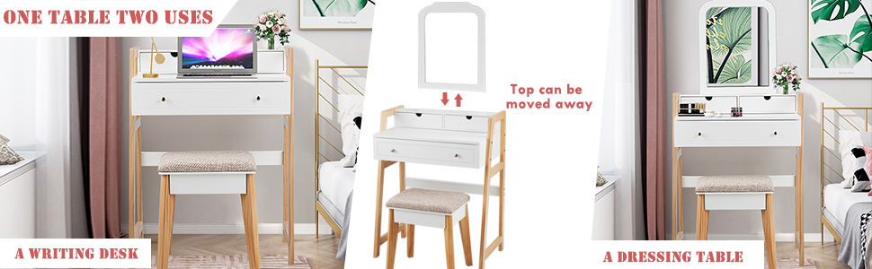 A Dressing Table  A Writing Desk