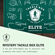 mystery tackle box elite bass fishing lures kit