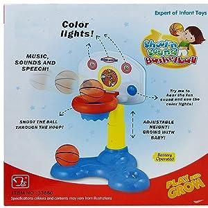 Toyshine Basketball Hoop for Kids Toddlers