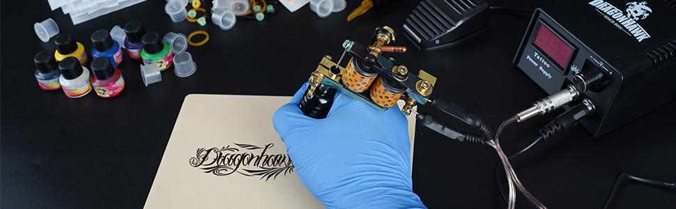 dragonhawk complete tattoo kit