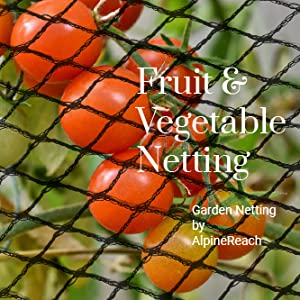 Fruit and Vegetable Netting Garden Netting by AlpineReach