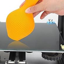 Borosilicate Glass 3D Printer Glass Print Platforms for Ender 5/Ender 3/Ender 3 Pro