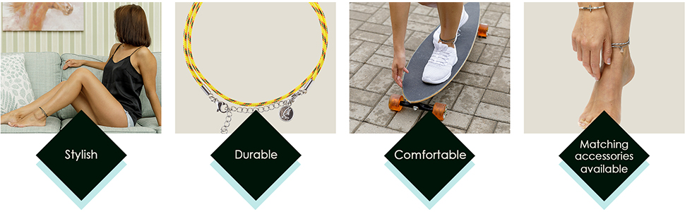 Handmade anklet for women