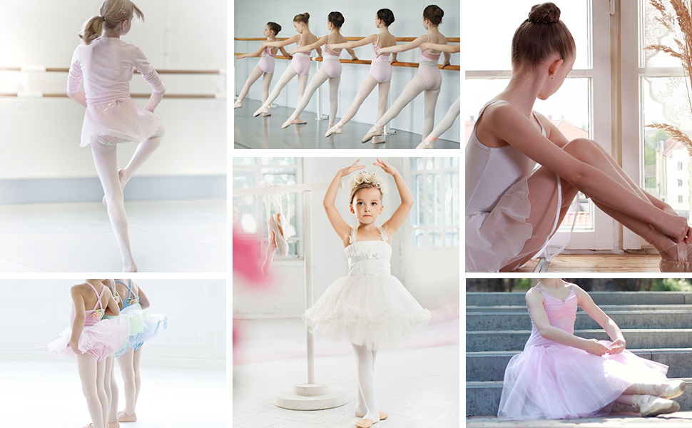 Transition Convertible Ballet Dance Tights