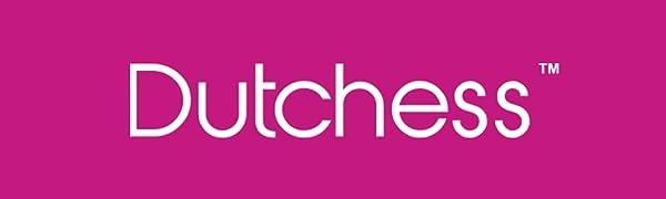 Dutchess logo on hot pink background