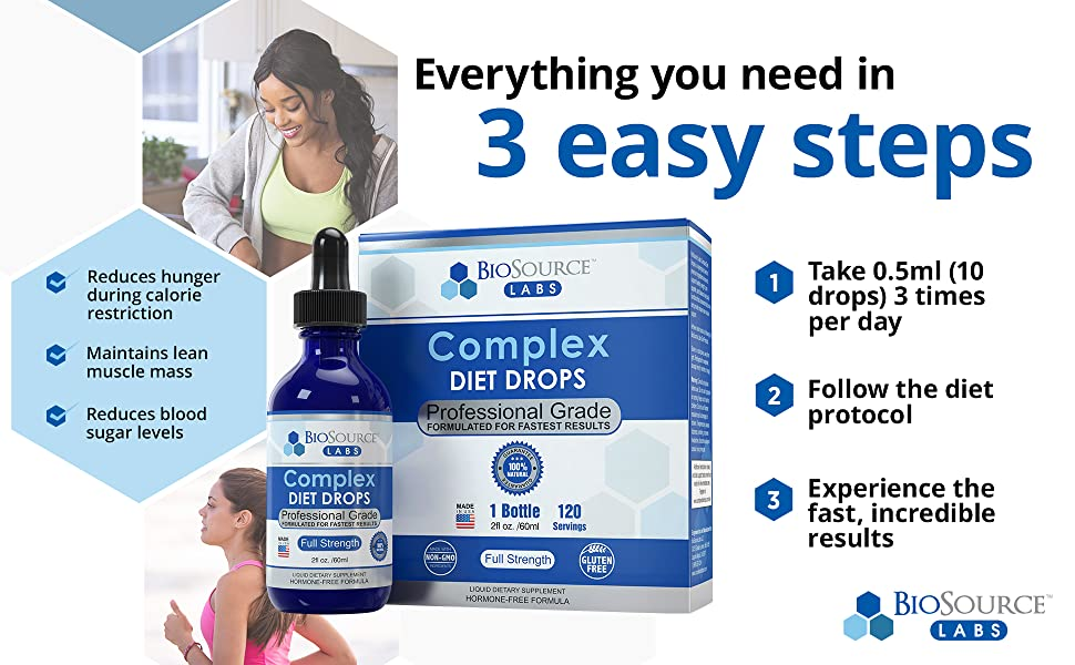 Everything you need in 3 easy streps weight loss diet plan fast results reduce hunger lean muscle